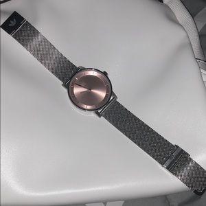 Adidas silver watch